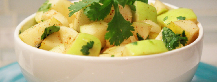 Spicy Apple Pear Salad